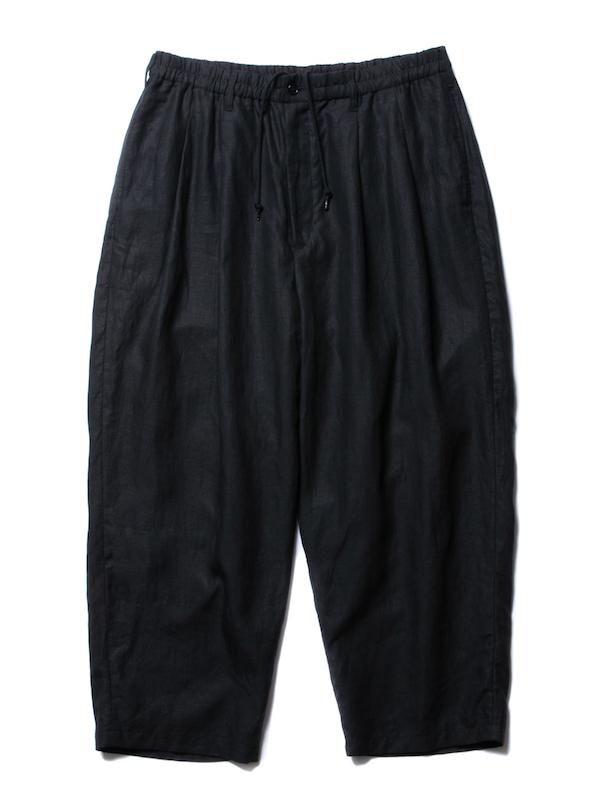 COOTIE Linen 2 Tuck Easy Pants
