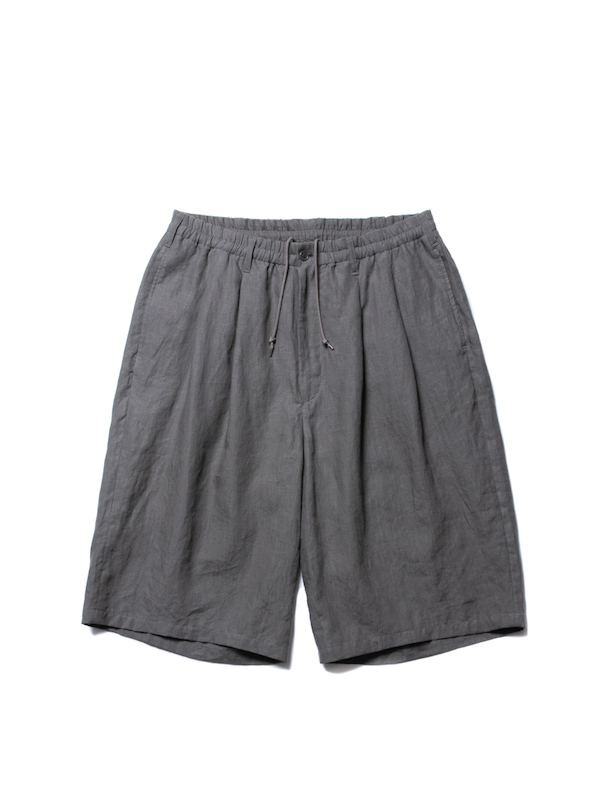 COOTIE Linen 2 Tuck Easy Shorts