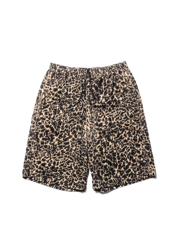 COOTIE Corduroy Leopard Easy Shorts