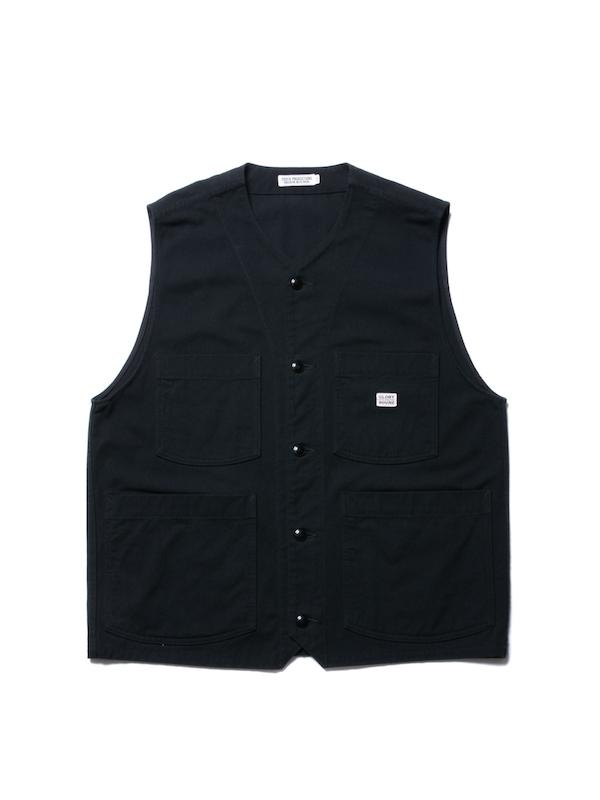COOTIE Rough Twill Work Vest