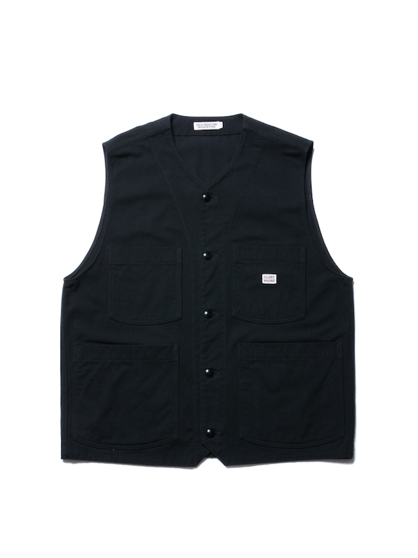 COOTIE Rough Twill Work Vest