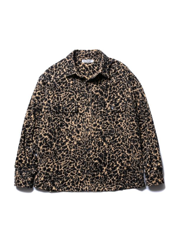 COOTIE Corduroy Leopard CPO Jacket