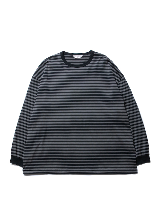 COOTIE Supima Cotton Border L/S Tee