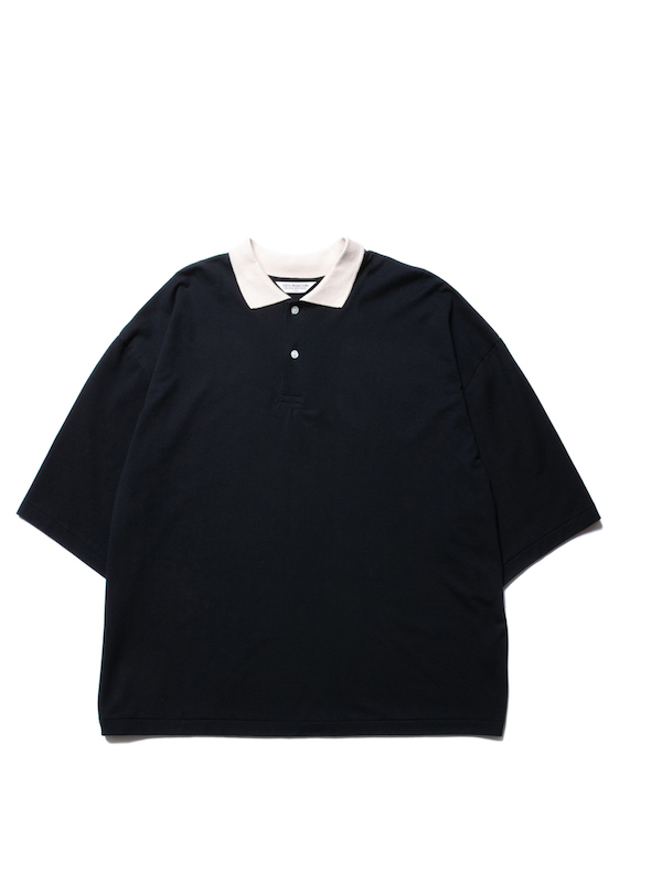 COOTIE Seed Stitch Polo S/S Tee