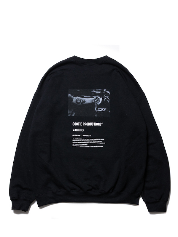 COOTIE Print Crewneck Sweatshirt (JESUS)