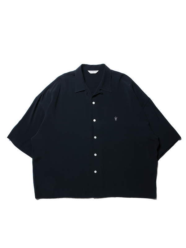 COOTIE Rayon Open-Neck S/S Shirt