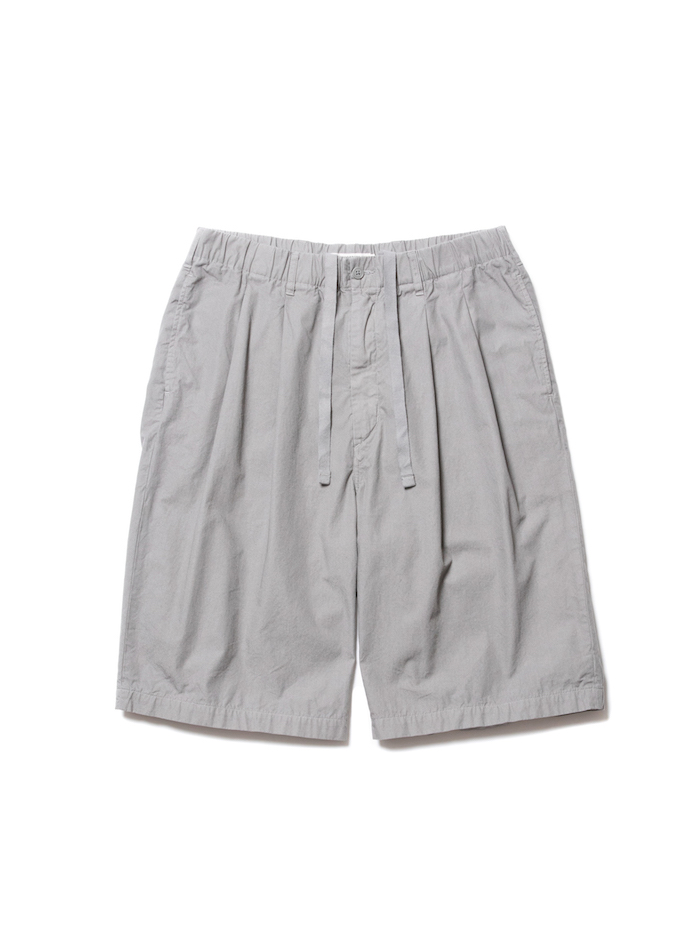 COOTIE Garment Dyed 2 Tuck Easy Shorts
