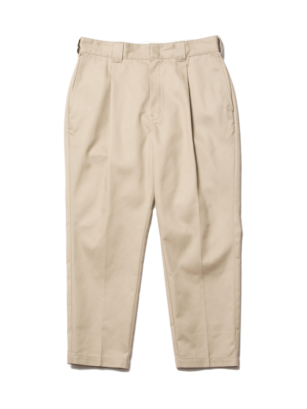 COOTIE T/C 1 Tuck Trousers