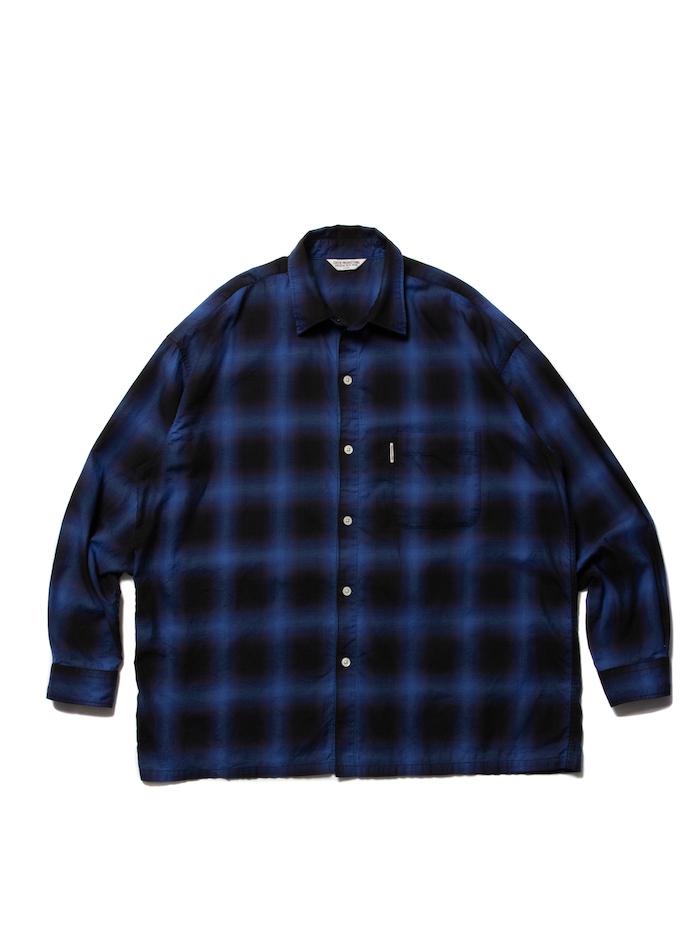 COOTIE Ombre Check L/S Shirt