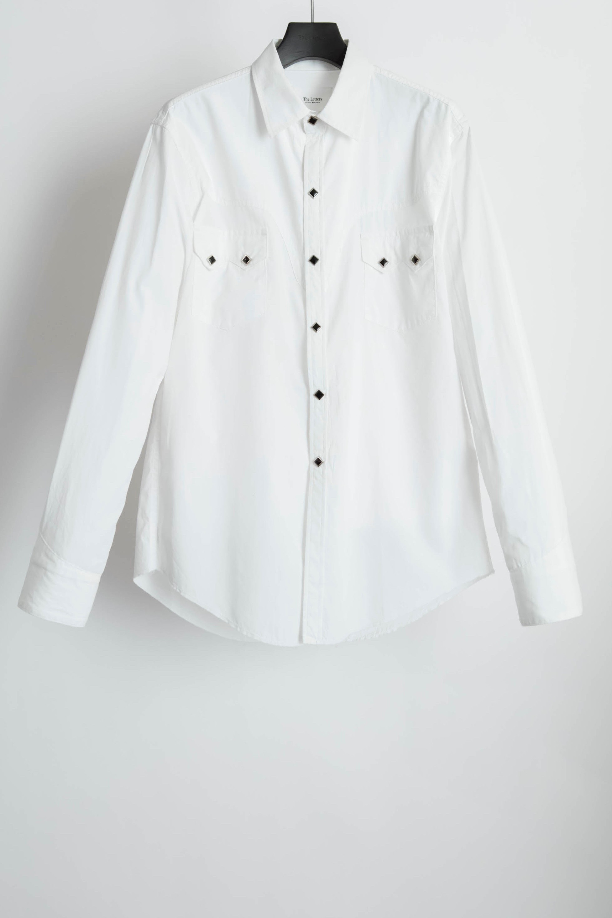 【The Letters】Western Harry Shirt. -Broad Cloth-
