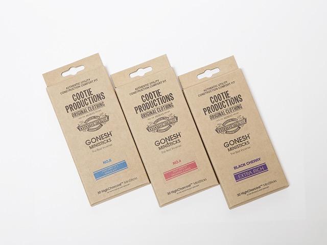 【COOTIE】Gonesh W-Name Ministicks Incense