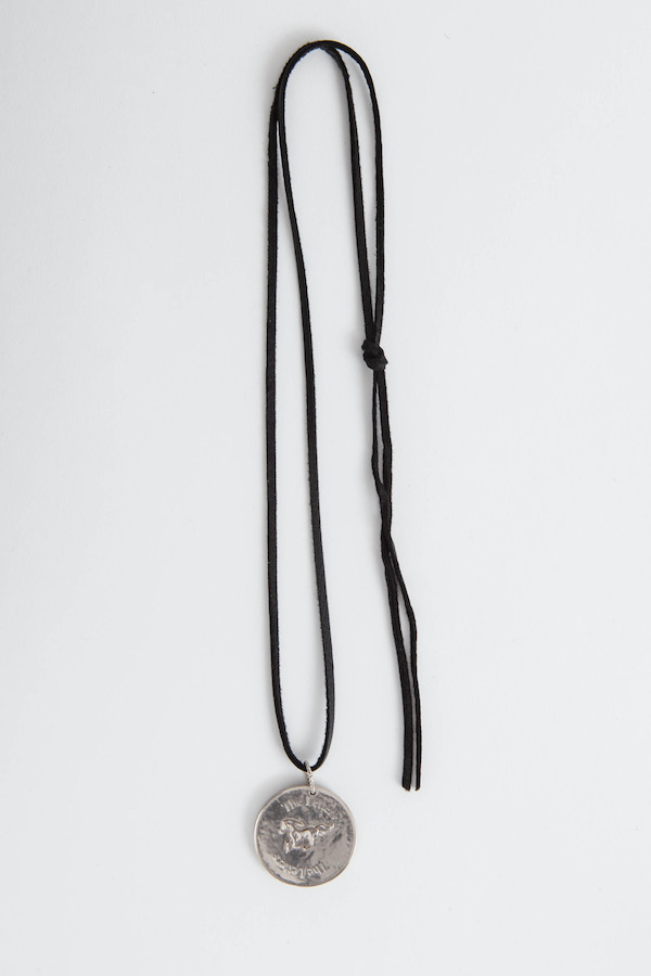 The Letters Coin Necklace.