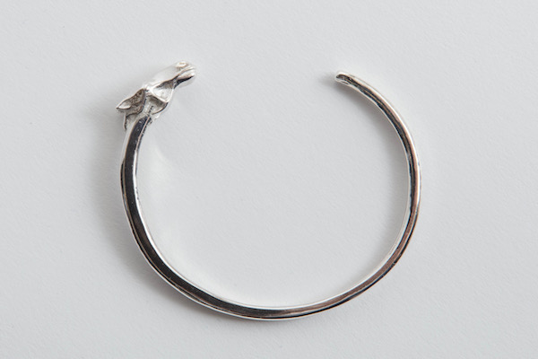 The Letters Horse Face Bangle.