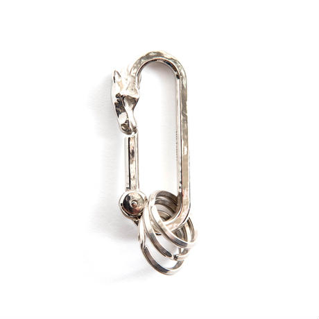 The Letters Horse Face Carabiner.