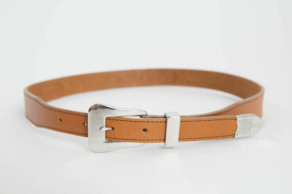 The Letters Twisted Western 3 Piece Belt.