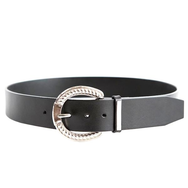 The Letters HORSE SHOE BUCKLE BELT