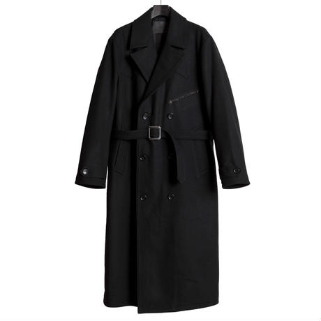 The Letters】WESTERN TRENCH COAT - MELTON WOOL-