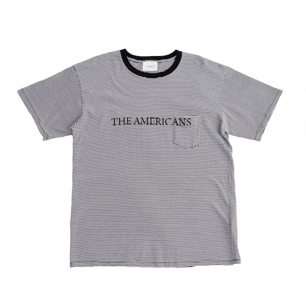 The Letters BORDER POCKET T-SHIRT