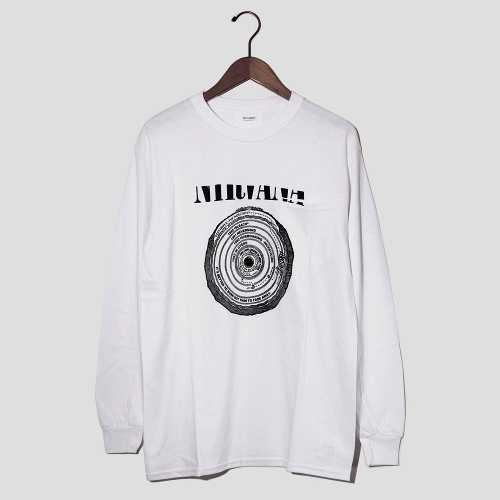 The Letters BIOGRAPHY POCKET L/S T-SHIRT