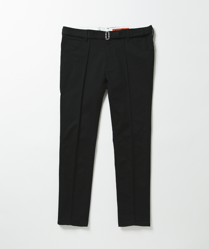 METAPHORE RED CAP CUSTOM PINTUCKS PANTS 9