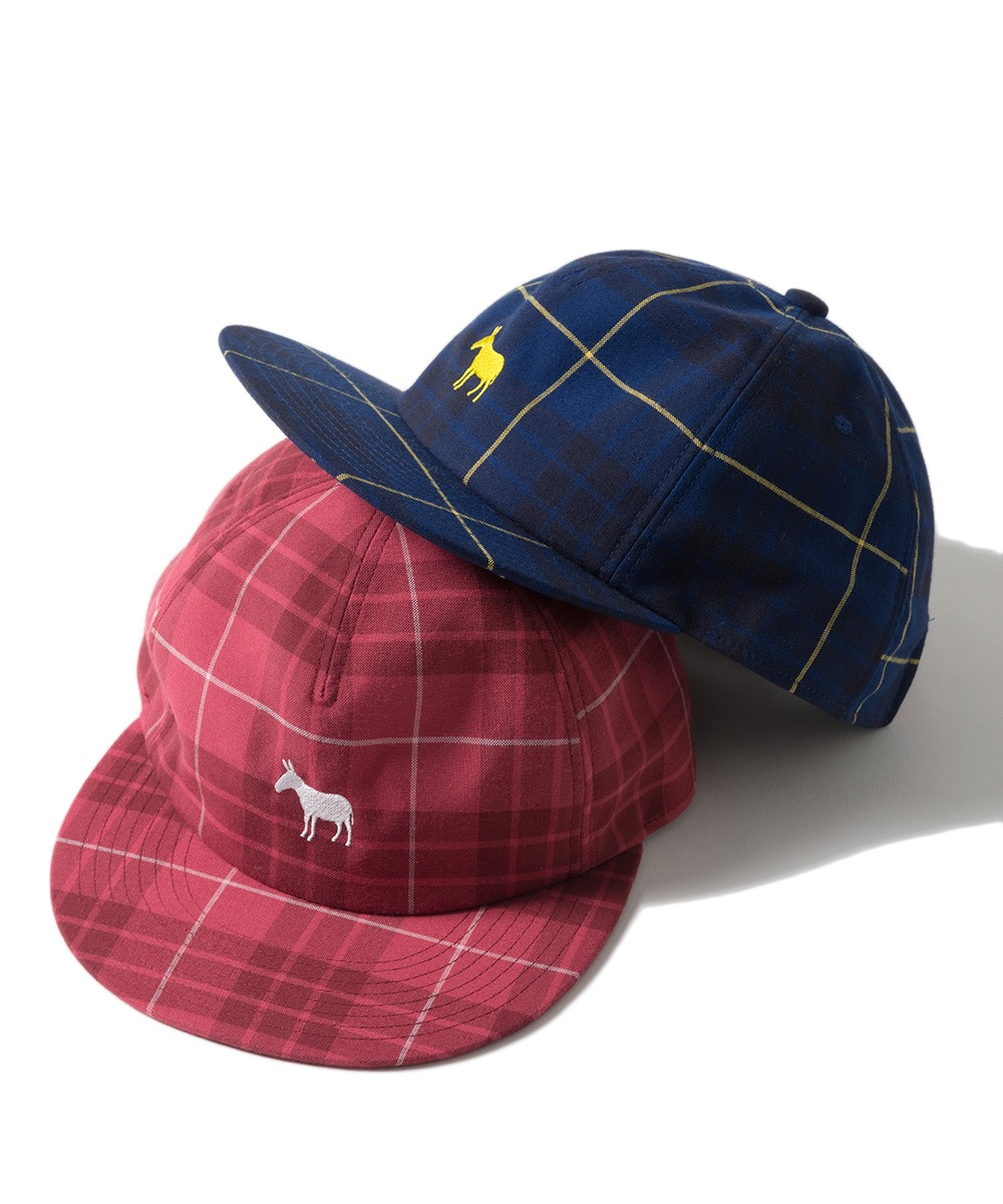 Name. PLAID RAYON 5-PANEL CAP