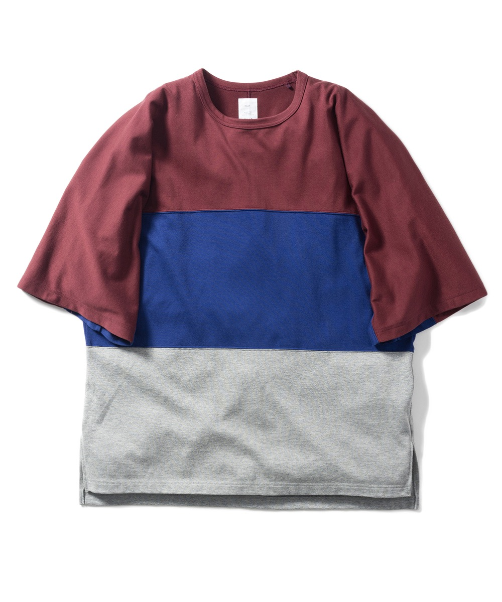 Name. OVERSIZED TRICOLOR TEE