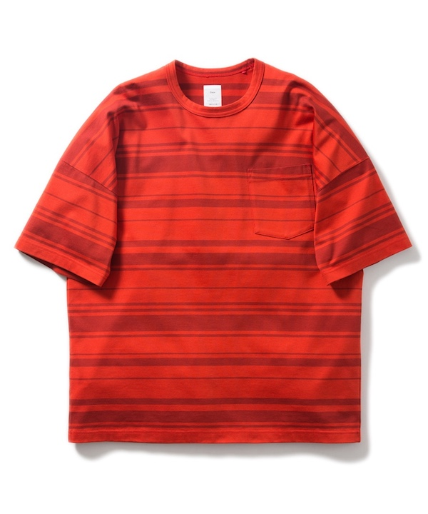 Name. RANDOM MARINE-STRIPED SHORT SLEEVE TEE