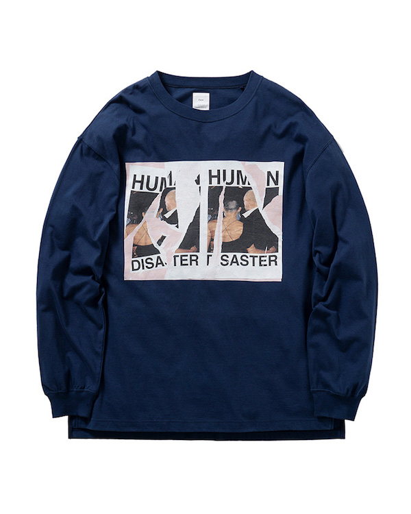 Name. FRONT PRINT LONG SLEEVE TEE
