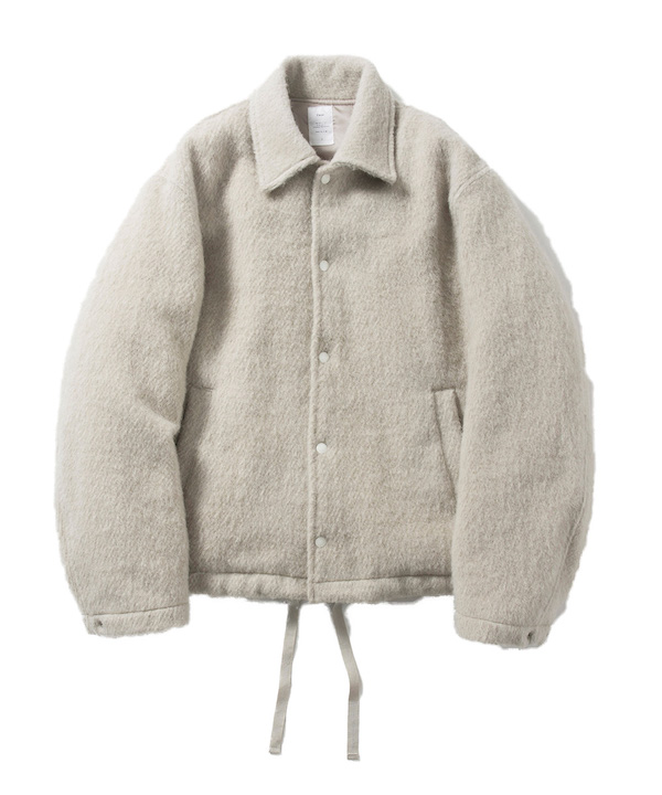 Name. SHAGGY WOOL/MOHAIR COACH JACKET