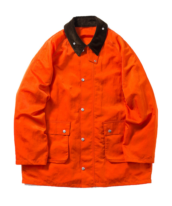 Name. NYLON TWILL FIELD COAT