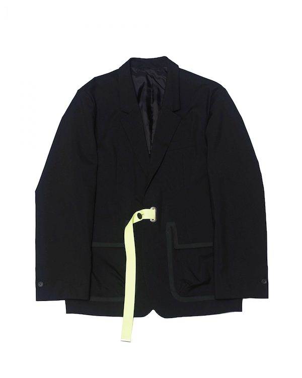 Name. OFF SCALE WOOL TAILORED JACKET