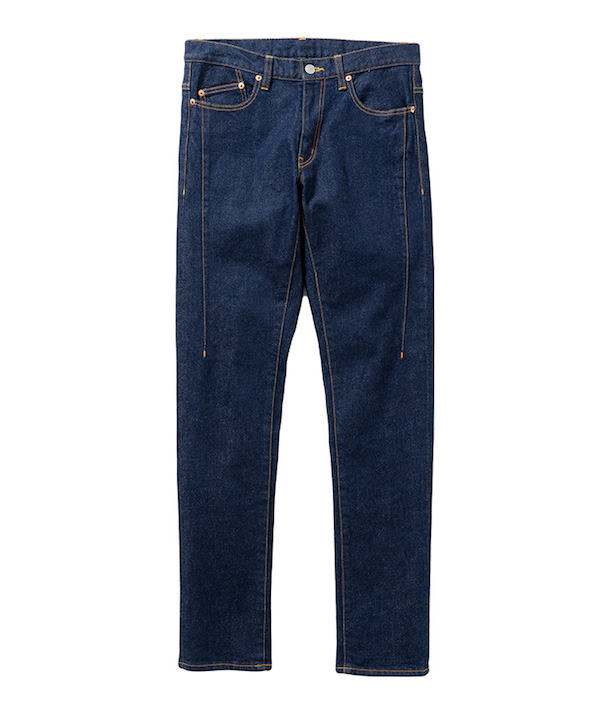 Name. WASHED STRETCH DENIM 5P SKINNY PANTS
