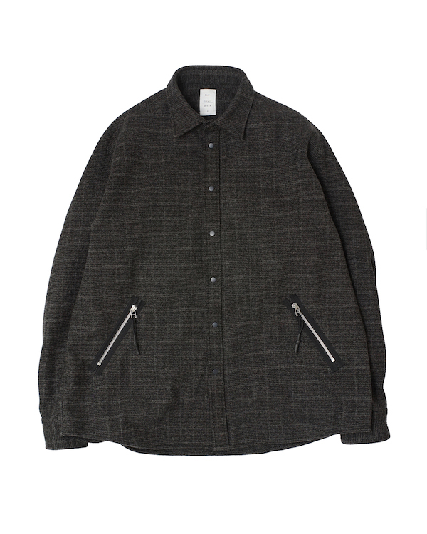 Name. TWEED OVERSIZED SHIRT
