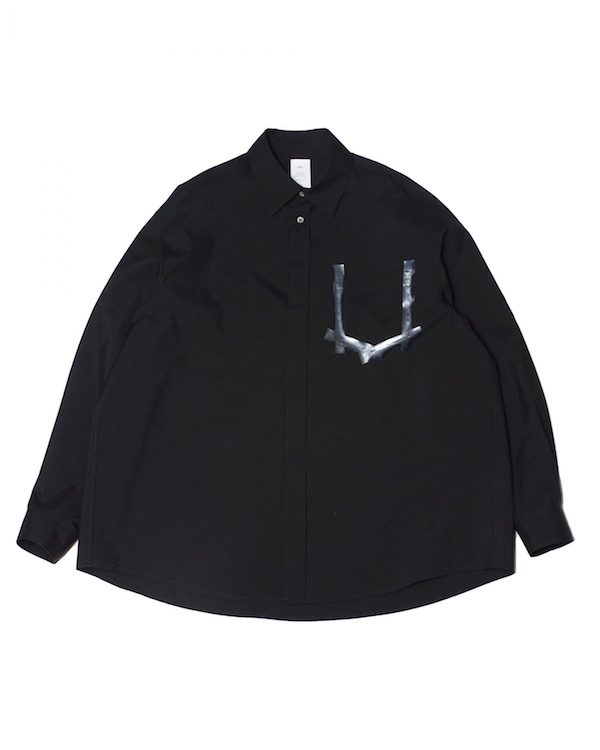 Name. OFF SCALE WOOL OVERSIZED SHIRT