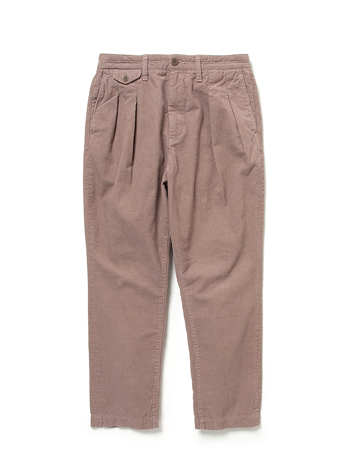 nonnative DWELLER CHINO TROUSERS RELAXED FIT COTTON CORD OVERDYED