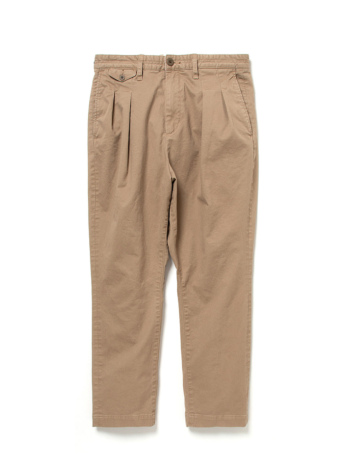 nonnative DWELLER CHINO TROUSERS RELAXED FIT C/P TWILL STRETCH VW