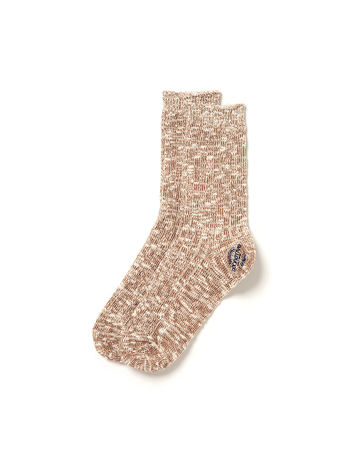 nonnative DWELLER SOCKS HI C/N/P YARN