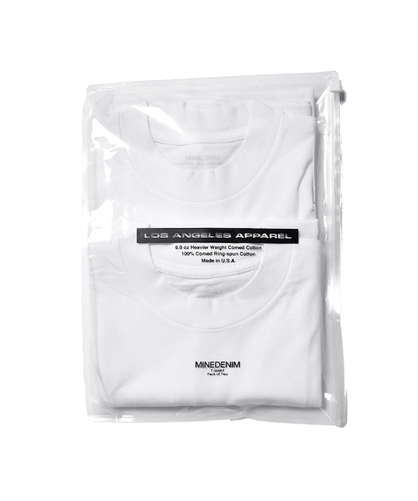 MINEDENIM 2 PACK T-SHIRT