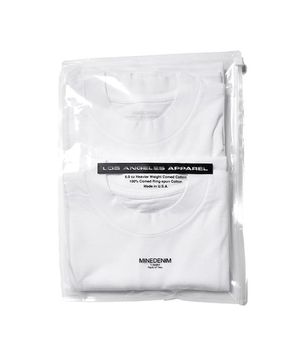 MINEDENIM 2 PACK T-SHIRTS