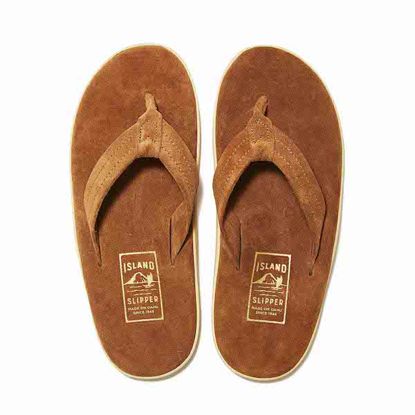 ISLAND SLIPPER SUEDE LEATHER SANDALS