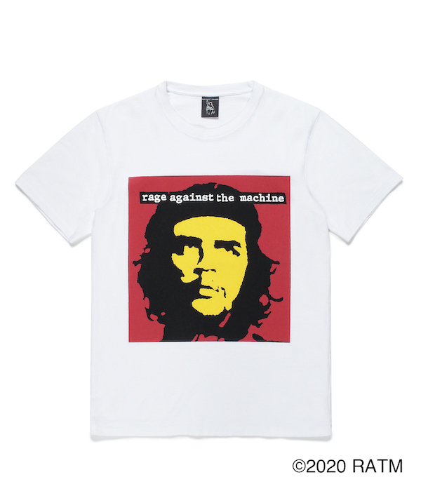 WACKO MARIA RAGE AGAINST THE MACHINE / WASHED HEAVY WEIGHT CREW NECK T-SHIRT