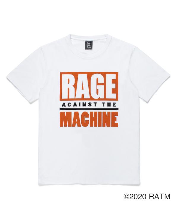 WACKO MARIA RAGE AGAINST THE MACHINE / WASHED HEAVY WEIGHT CREW NECK T-SHIRT