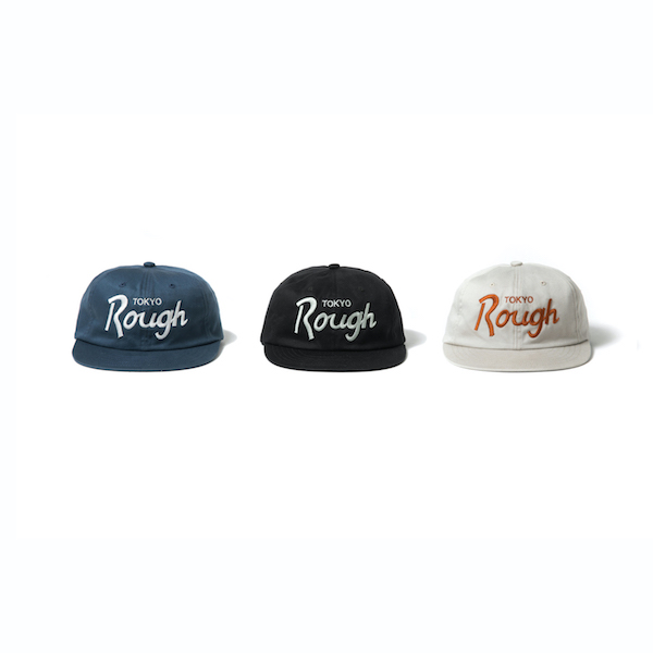 ROUGH AND RUGGED DESIGN CAP (TOKYO ROUGH)