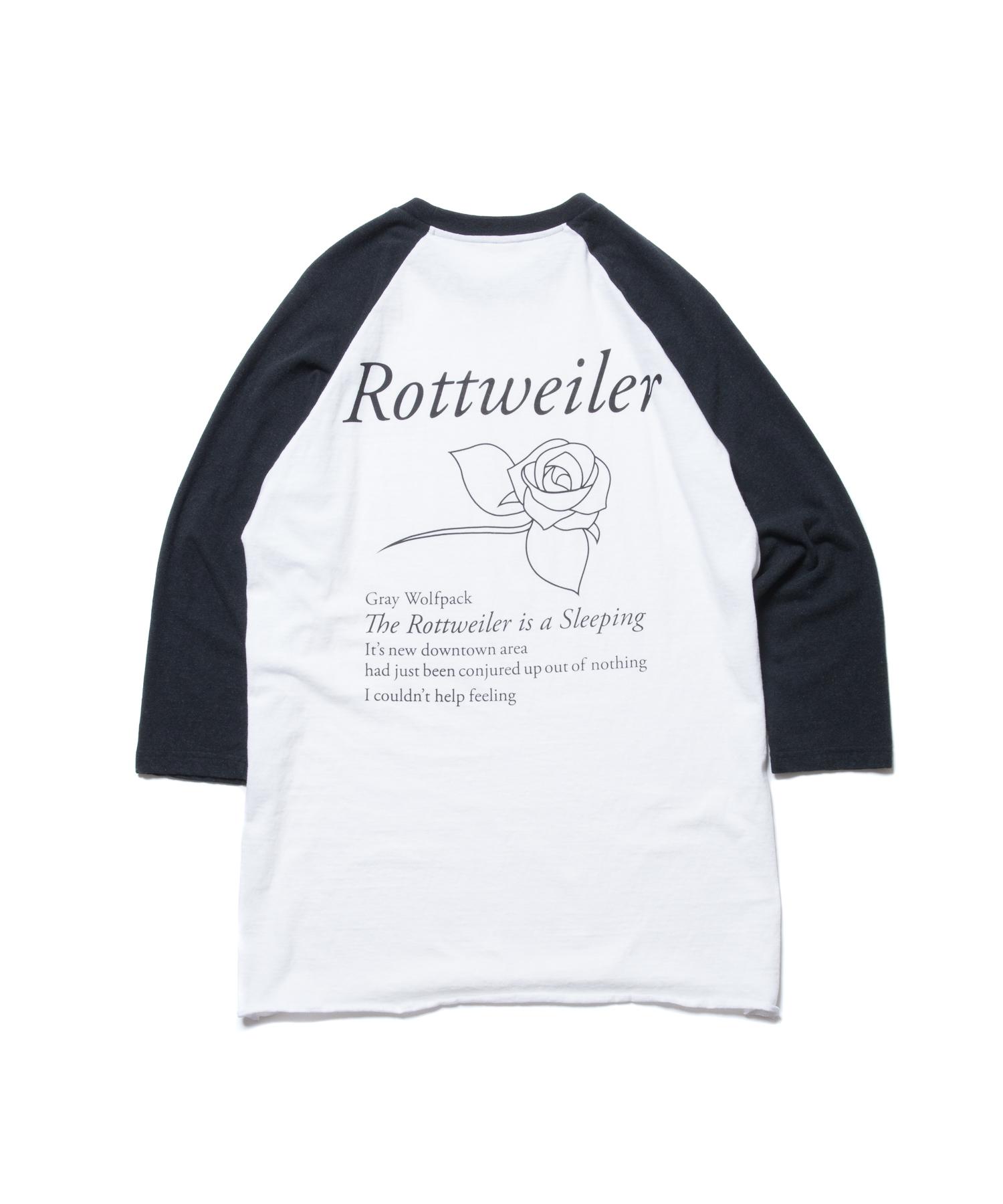 ROTTWEILER ROSE 3/4 Tee