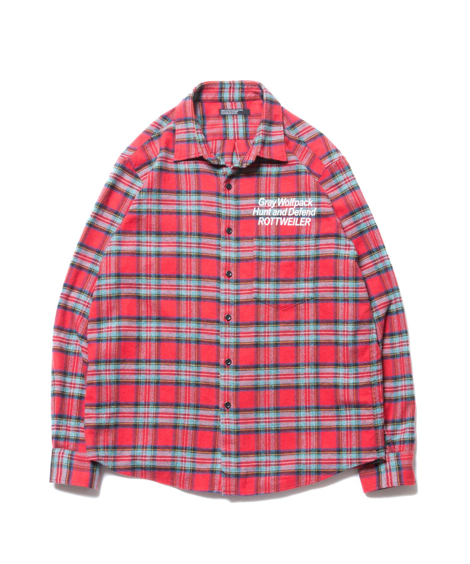 ROTTWEILER Check Regular Collar LS Shirt