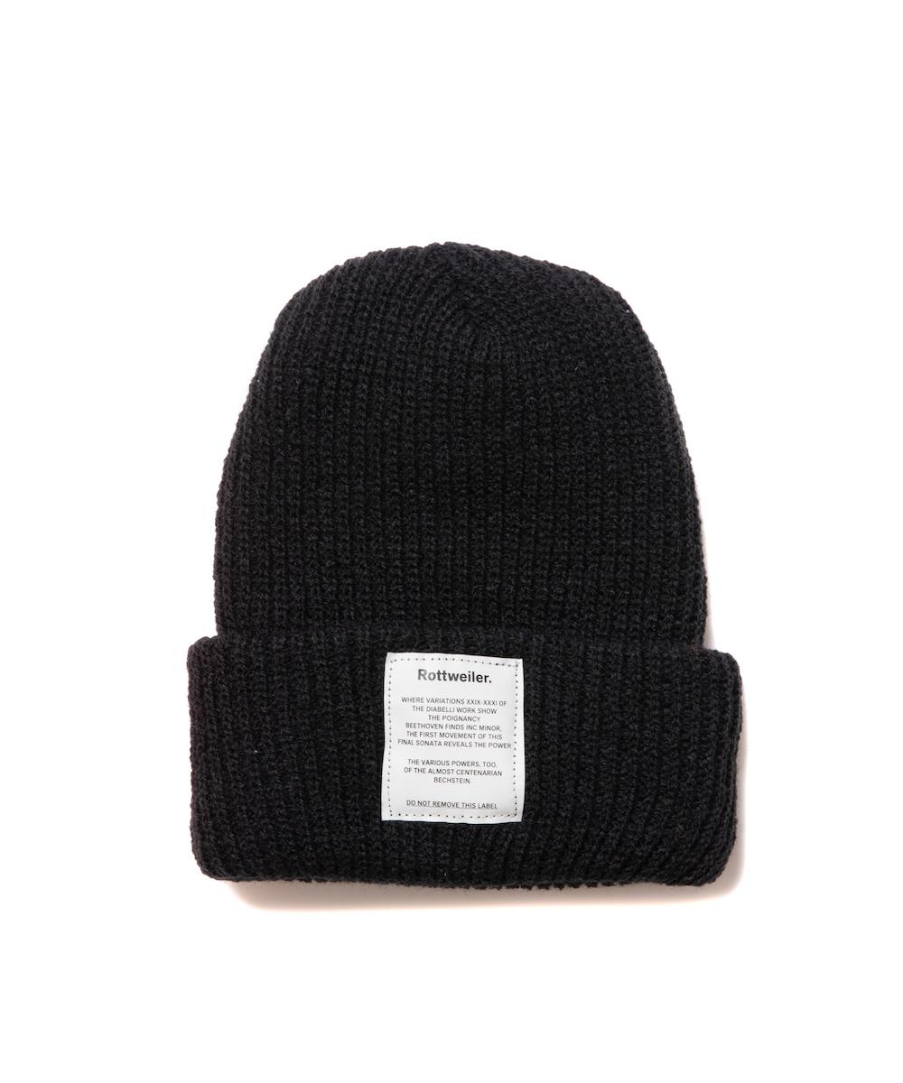 【ROTTWEILER】Name BRONER Knit Cap