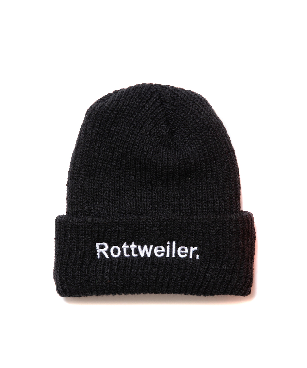 【ROTTWEILER】R.W BRONER Knit Cap