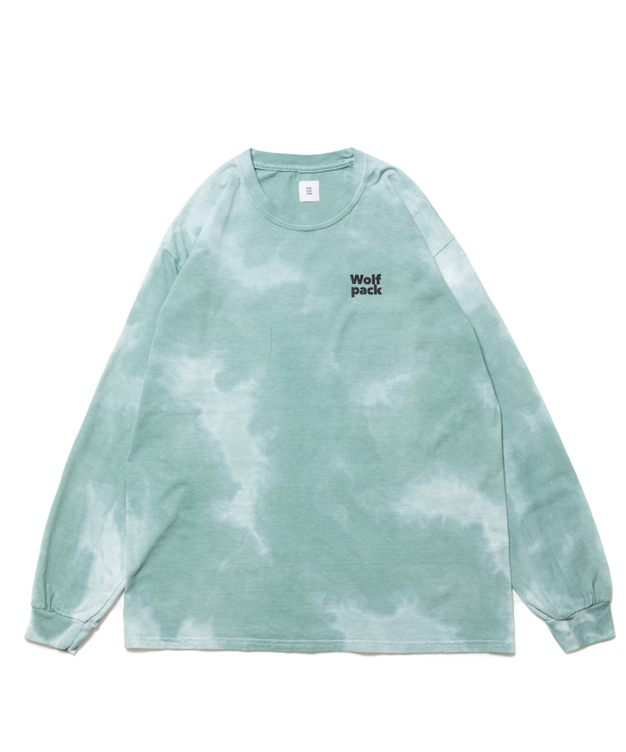 【ROTTWEILER】TIEDYED W.P LS TEE