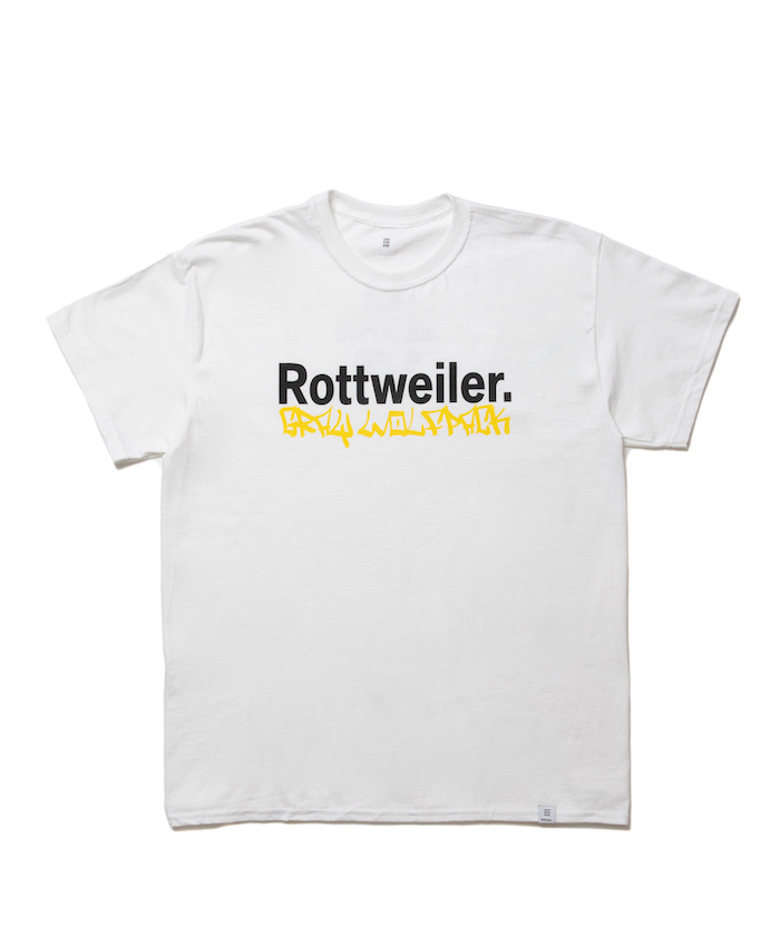 【ROTTWEILER】TAGGING. S/S TEE