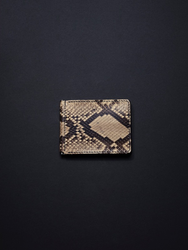 ANTIDOTE BUYERS CLUB Money Clip Wallet (Python)